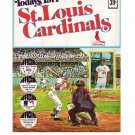 1971 Dell St. Louis Cardinals Official MLB Stamp Album w/24 Player Stamps: Brock, Carlton, Gibson