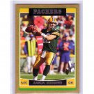 Aaron Rodgers 2006 Topps Gold Bordered  #84 Parallel (2nd Year) Packers Serial #/2006