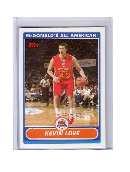Kevin Love 2007-08 Topps McDonald's All American #KL Timberwolves, Cavs