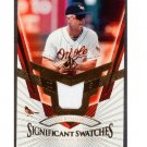 Cal Ripken 2004 SP Legendary Cuts Significant Swatches Game-Used Jersey #SS-CR Orioles HOF