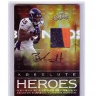 Brandon Marshall RC 2006 Absolute Autographed Jersey Patch #AH-11 Jets, Bears Broncos #/25