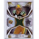 Jordy Nelson 2008 Leaf R&S Cross Training Rookie Jersey #CT-24 Packers RC #/250