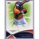 Ronnie Hillman 2012 Prolific Playmakers Autograph RC #PPA-RH  Broncos