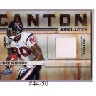 Andre Johnson 2009 Absolute Canton Absolutes Prime Jersey #6 Texans #/50 Colts