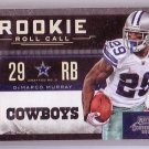 DeMarco Murray 2011 Playoff Contenders Rookie Roll Call #6 Cowboys RC