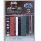 Ronnie Brown RC 2005 4-Color Rookie Prime Jersey #102 Dolphins, Chargers RC