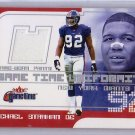 Michael Strahan 2001 Fleer Game-Time Uniformity Game Used Pants #MS Giants