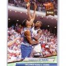 Shaquille O'Neal RC 1992-93 Fleer Ultra #328 RC Lakers, Magic Shaq