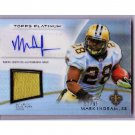 Mark Ingram #/99 2012 Topps Platinum Certified Autographed Patch #AVP-MI Saints