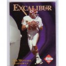 Joe Montana 1995 Collector's Edge Excalibur 22KT  #4 49ers, Chiefs HOF