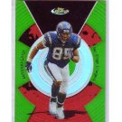 Antonio Gates 2005 Finest Green Refractor #9 Chargers #/199