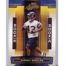Darren Sproles 2005 Playoff Absolute Rookie #172 Eagles, Chargers, Saints #/999 RC