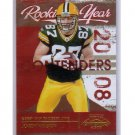 Jordy Nelson RC 2008 Playoff Contenders Rookie of the Year #22 Packers #/500 RC