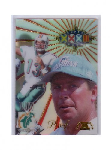 #/500 Dan Marino 1998 Collector's Edge Super Bowl Proof #11 Dolphins HOF