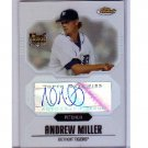 Andrew Miller RC 2007 Topps Finest Refractor Rookie Autograph #151 Yankees Indians #/399