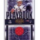 Tom Brady 2006 Gridiron Gear Playbook Authentic Jersey #PB-20 Patriots #/250