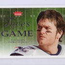 Tom Brady 2005 Fleer Faces of the Game #FG-TB Patriots