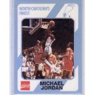 Michael Jordan 1989-90 Collegiate Collection/Coca-Cola North Carolina's Finest #13 Bulls