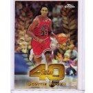Scottie Pippen Refractor 1997-98 Topps Chrome Topps 40 Refractor #T40-40 Bulls, Blazers