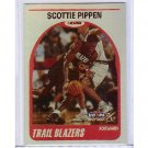 Scottie Pippen 1999-00 Skybox NBA Hoops Decade Hoopla Plus #129 Bulls, Blazers