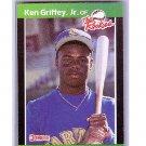 Ken Griffey Jr. RC HOF 1989 Donruss The Rookies Box Set #3 RC Mariners, Reds