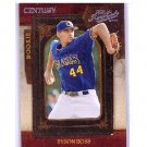 Tyson Ross 2008 Playoff Prime Cuts Century Rookie #129 Padres, A's #/25