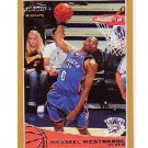 Russell Westbrook 2009-10 Topps Gold #206 Thunder OKC #/2009