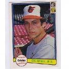 Cal Ripken Jr. 1982 Donruss #405 Orioles RC