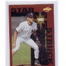 Derek Jeter 1996 Score Dugout Collection Parallel #109 Star Struck Parallel Yankees