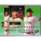 Derek Jeter 1995 Fleer Ultra Golden Prospect #7 Yankees