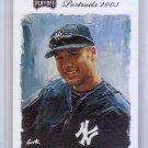 Derek Jeter 2003 Playoff Portraits #5 Yankees