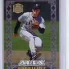 Alex Rodriguez 1999 Topps Stars 'n Steel Insert #4  Yankees