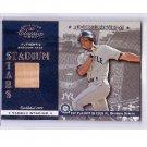 Alex Rodriguez 2001 Donruss Classics Stadium Stars Authentic Stadium Seat #SS-11  Yankees