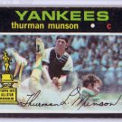 Thurman Munson 1971 Topps #5 Yankees 2nd Year
