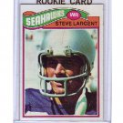 Steve Largent RC 1977 Topps Rookie #177 Seattle Seahawks, HOF