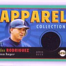 Alex Rodriguez 2004 Upper Deck Play Ball Jersey #AC-AR Yankees Rangers
