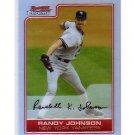 Randy Johnson Refractor 2006 Bowman Chrome Refractor #162 Yankees, Mariners, Diamondbacks HOF