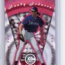 Randy Johnson 1997 Totally Certified Platinum Red #54 Yankees, Mariners, HOF #/3999