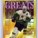 Mike Modano 2000-01 Topps Gold Label Golden Greats #GG13  Stars HOF