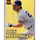 Don Mattingly 1995 Pacific Crown Collection Prisms #10 Yankees, Dodgers