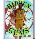 Kobe Bryant 2000-01 Topps Hidden Gems #HG3 Lakers