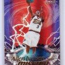 Allen Iverson HOF 1999-00 Fleer Force Mission Accomplished Forcefield #3MA 76ers