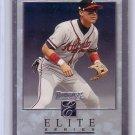 Chipper Jones 1996 Donruss Elite Series #66 Braves #/10000