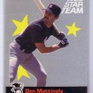 Don Mattingly 1987 Fleer All Star Team #1  Yankees