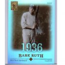 Babe Ruth 2004 Topps Tribute Hall of Fame Cut Signature Edition #3 Yankees