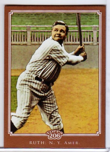 Babe Ruth 2010 Topps 206 Bronze #185 Yankees