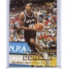Tim Duncan RC 1997-98 Fleer Rookie #201 Robinson Spurs