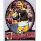 Brett Favre 1997 Score Board #34 Die-cut  Packers, Vikings