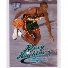 Hersey Hawkins #/99 1998-99 Fleer Ultra Platinum Medallion #64P Sonics, Bulls, 76ers