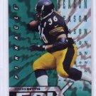 Jerome Bettis 1997 Pinnacle Certified Epix Green #E14  Steelers, Rams HOF